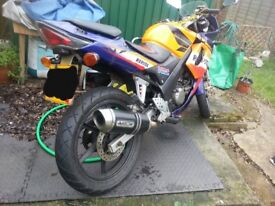 Honda CBR 125r or parts
