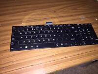 C850-1G2 TOSHIBA SATELLITE UK Keyboard Black