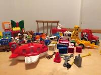 Duplo bundle, includes farm, aeroplane, tractors, cars and lots of extras