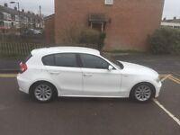 Forsale Bmw 1series full body white wrap 2litter DIESEL 54plat in 2005 reg 6 speed Nice family car