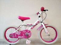 "FREE Bell with (2651) 16"" 10.5"" SILVERFOX GIRLS KIDS CHILD BIKE BICYCLE; Age: 5-7 Height: 105-120 cm"