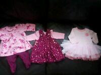 Baby girl bundle Newborn, First size upto 1 month