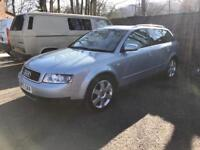 Audi A4 1.9 tdi pd130 Quattro Remapped M.O.T 4 months spares or repair