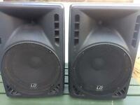 Dj speakers , LD 15 inch speakers
