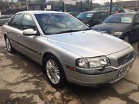 Volvo S80 2.4 SE 4dr£1,850 p/x welcome FREE 1 YEAR WARRANTY