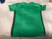 Men's green Adidas size medium climate cool T-shirt