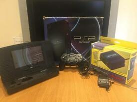 SONY PLAYSTATION PS2 + accessories