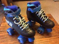 Roller skates for children size 2, like new. £25, Rio Roller - Light Up Flashing Wheels - Blue £30