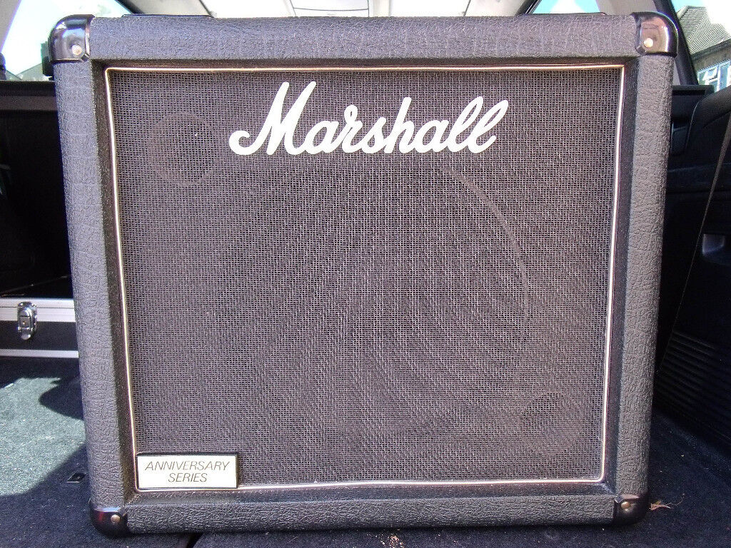 Marshall 30th Anniversary Series 6912 200w 1x12 Extension Cabinet ...