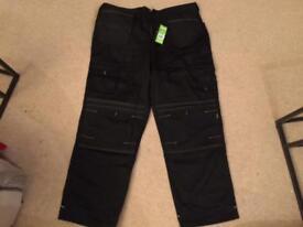 Work Pants knee Pad Holster Trousers