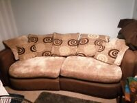 Large 4seater settee