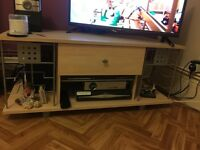 TV STAND AND COFFEE TABLE SET GOOD CONDITION, £50 FOR BOTH, COLLECTION ONLY
