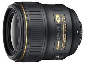 NEW Nikon AF-S FX NIKKOR 35mm f/1.4G Lens
