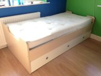 FULL SIZE SINGLE CABIN BED WITH THREE DRAWERS