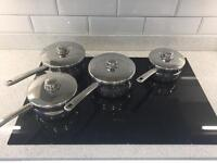 Stellar Pan Set RRP £140 induction hob compatible