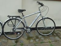 bikes ladies and gents used twice only as new condition first to see these bikes will buy them