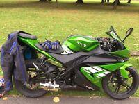 Genata 125 Sports Bike - Learner Leagal