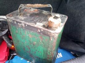 Antique Petrol Cans