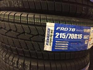 NEW WINTER TIRES READY FOR INSTALLATION TODAY ! 47 SIZES IN STOCK TODAY !!