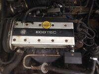 Vauxhall 2.0 litre engine x20xev ecotec calibra cavalier Astra corsa nova