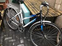 Scott ladies 21 speed hybrid bike with pannier rack £85