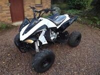 250cc quad bike with manual gearbox.
