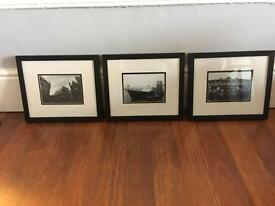 3 Black And White Art Photographs