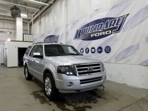 2012 Ford Expedition Limited W/ 4WD, Leather, Rear DVD,Air Level