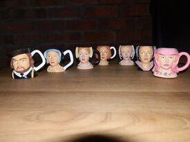 Collectable Regency Miniature Toby Jugs