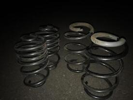 4.5cm lowering Springs for Volkswagen cars and also fit Peugeot cars