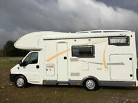 fiat benimar europe 6000 stx 2004, 6 berth, only 25k miles, very large garage, full service history!
