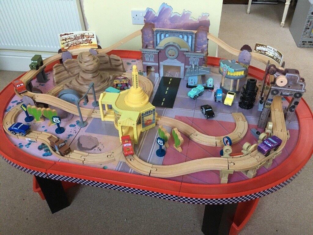Kidkraft Disney Cars Radiator Springs Race Track And Play Set In Bromsgrove Worcestershire Gumtree