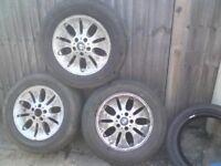 X3 2001-2006 BMW X5 17'' ALLOY WHEELS HARINGEY NORTH LONDON N8 E**Y ITEM 263569405729