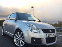 2009 SUZUKI SWIFT SPORT WITH FULL BODY KIT AND TWIN EXHAUST