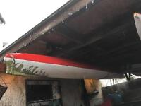 Kayak Canoe 14-15ft and Paddle