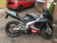 Aprilia rs 125. Full power