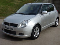 SUZUKI SWIFT 1.5 GLX VVTS 5d AUTO 101 BHP GREAT EXAMPLE OF LOW MILEAGE AUTO + 2 PREVIOUS KEEPERS +