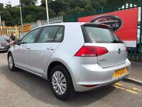 VW Golf 7 Diesel 1.6Tdi Mk7 2013 Silver