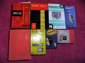 Vintage TV servicing and video books