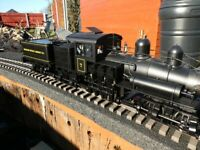 Bachmann g scale 3 Truck Shay Logging Locomotive, boxed for sale  Manningtree, Essex