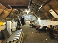 Workshop / storage for rent in Amport, Hampshire (3 minutes from A303)