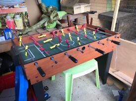 Multi sports table. Including snooker, table tennis and air hockey.