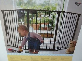 New in box BabyDan Baby and Child Configure Safety Gate - 90 to 180cm - Silver