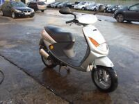 PEUGEOT VIVACITY 50cc SCOOTER,2001 MODEL,GENUINE 8700 MILES,OWNED FROM NEW,RUNS AND RIDES LIKE NEW.