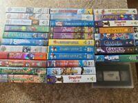 86x VHS Video Tape Joblot