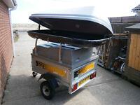 ERDE 122 TRAILER WITH EVERY ACCESSORY YOU COULD WANT.