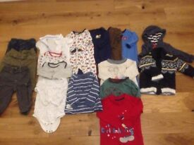 6-9 month baby boy clothes bundle