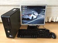 New Dell OptiPlex 745 Windows 7 Professional Full PC Setup - 2GB RAM & 80GB HDD
