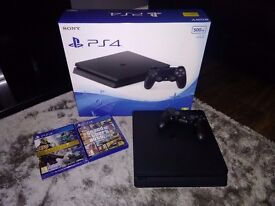 PS4 and 2 Games