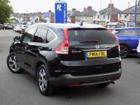 HONDA CR-V 2.0 I-VTEC EX 5dr AUTO 4WD (155) ** Leather + Sat Nav + Pan Roof ** (black) 2014